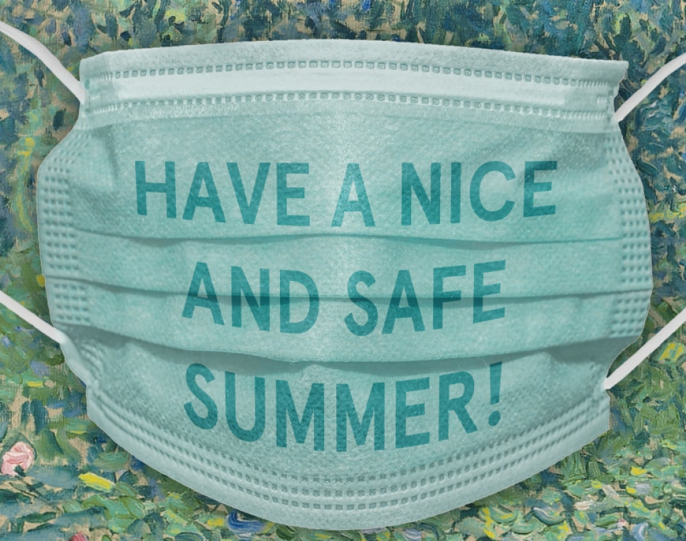 Banner Have a nice and safe summer